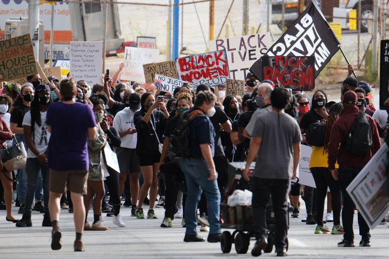 Protest in Atlanta
