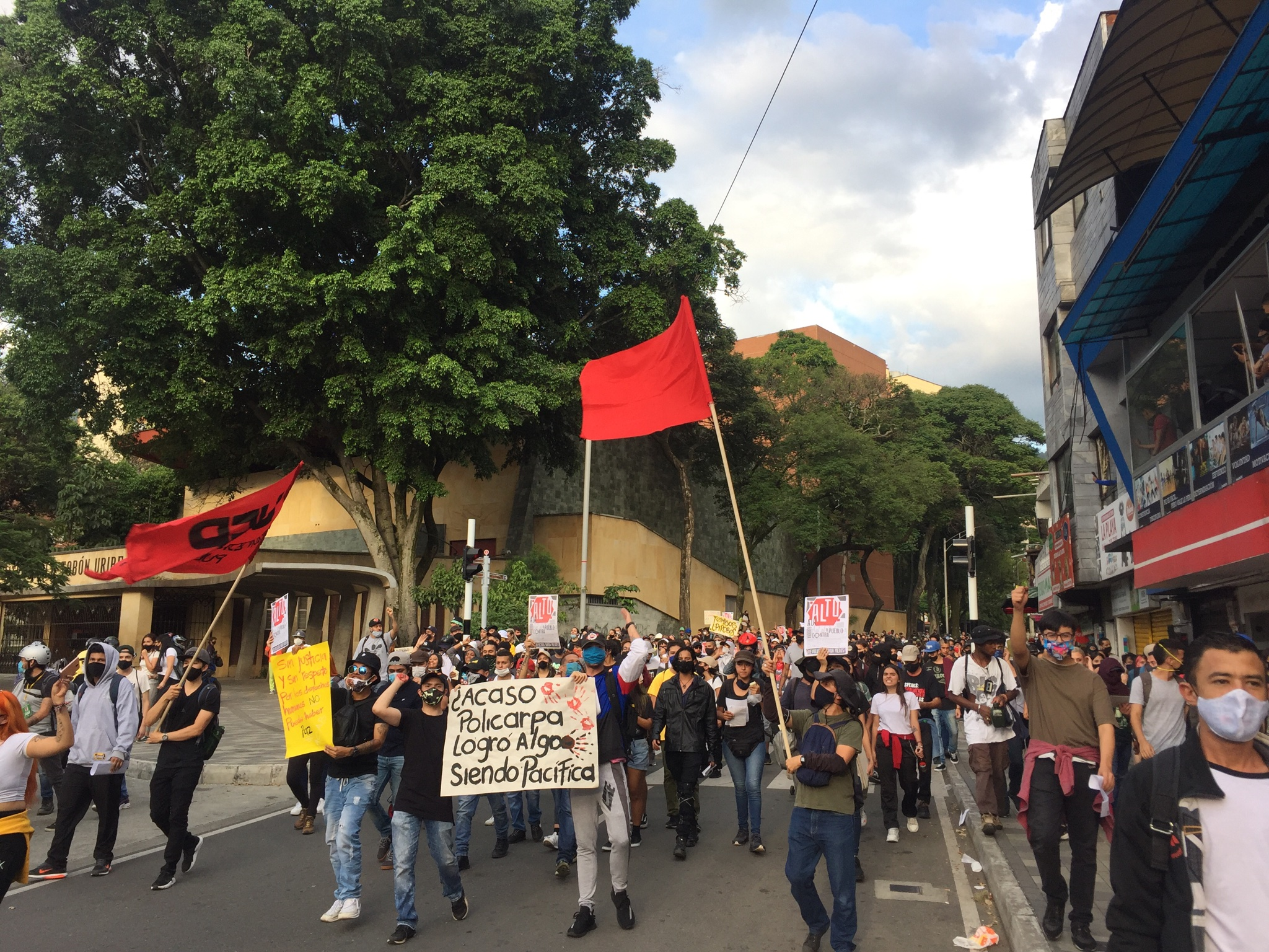 Demonstration Starts at Protesters' Funeral & Protests Against Sexual Violence Erupt (9/13/2020)