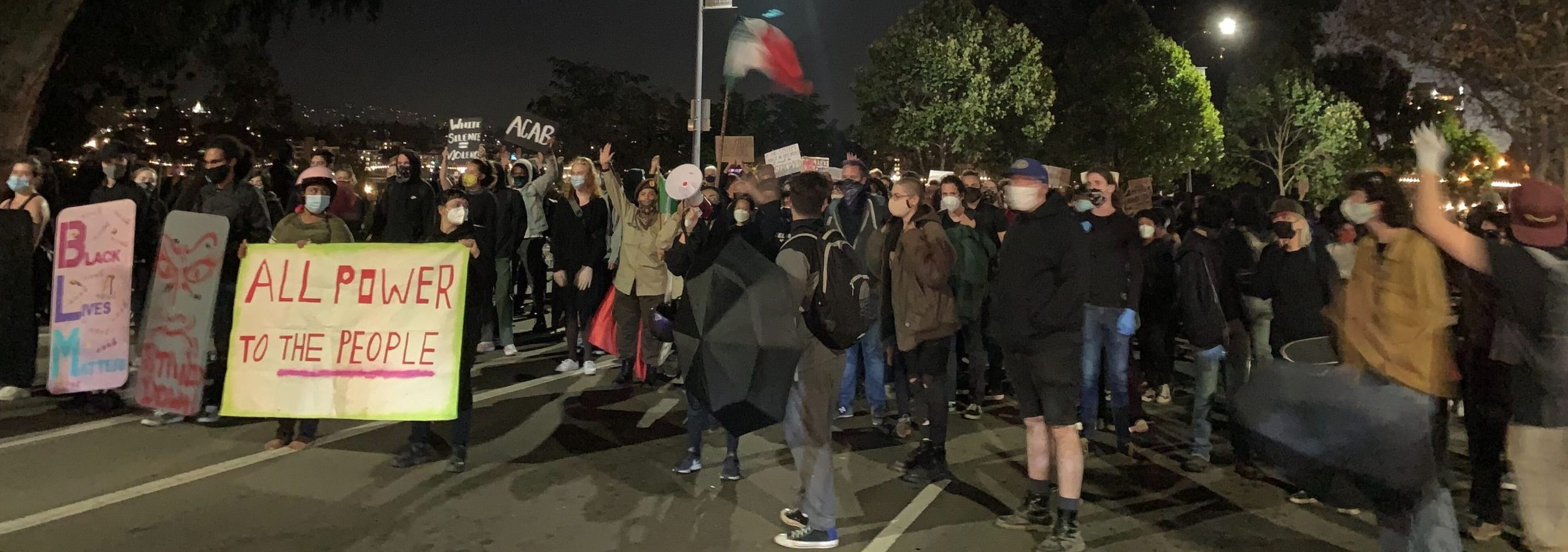 Protest in Oakland