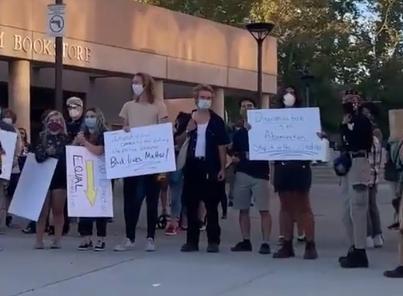Protest in Albuquerque