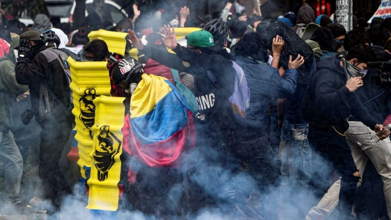 September 17th Protests in Colombia