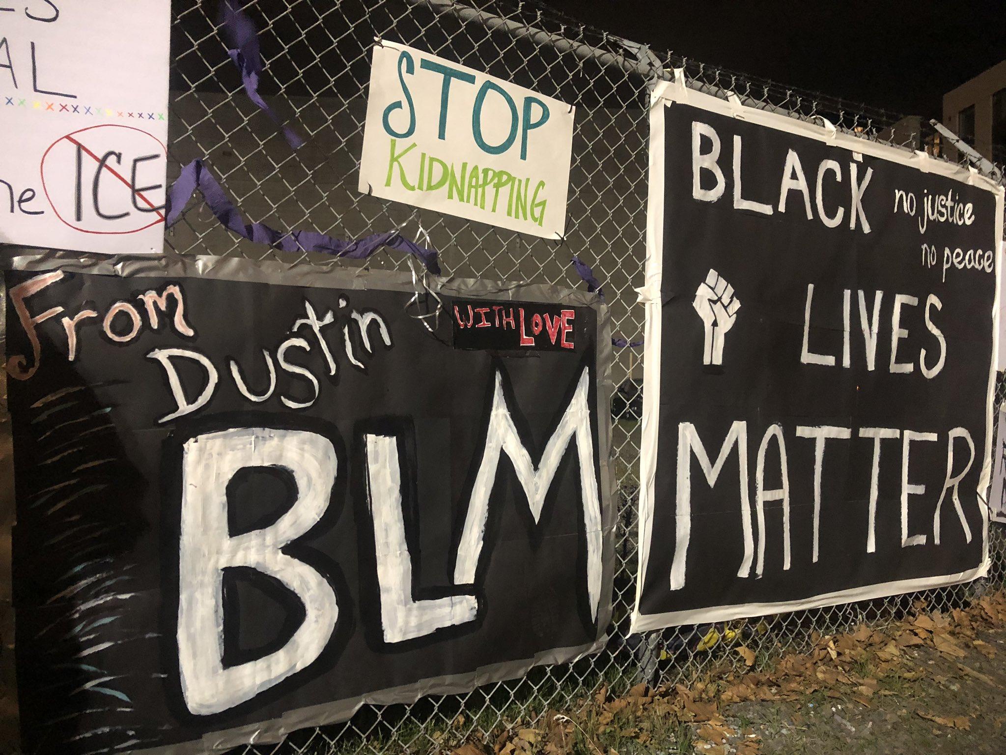 Abolish ICE + BLM Portland Protest Day 130