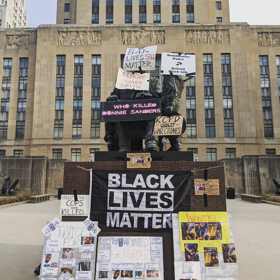 Kansas City Protesters Occupy City Hall