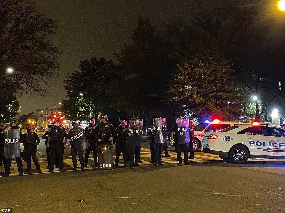 Riots Begin in Washington D.C. After Killing of Black Man