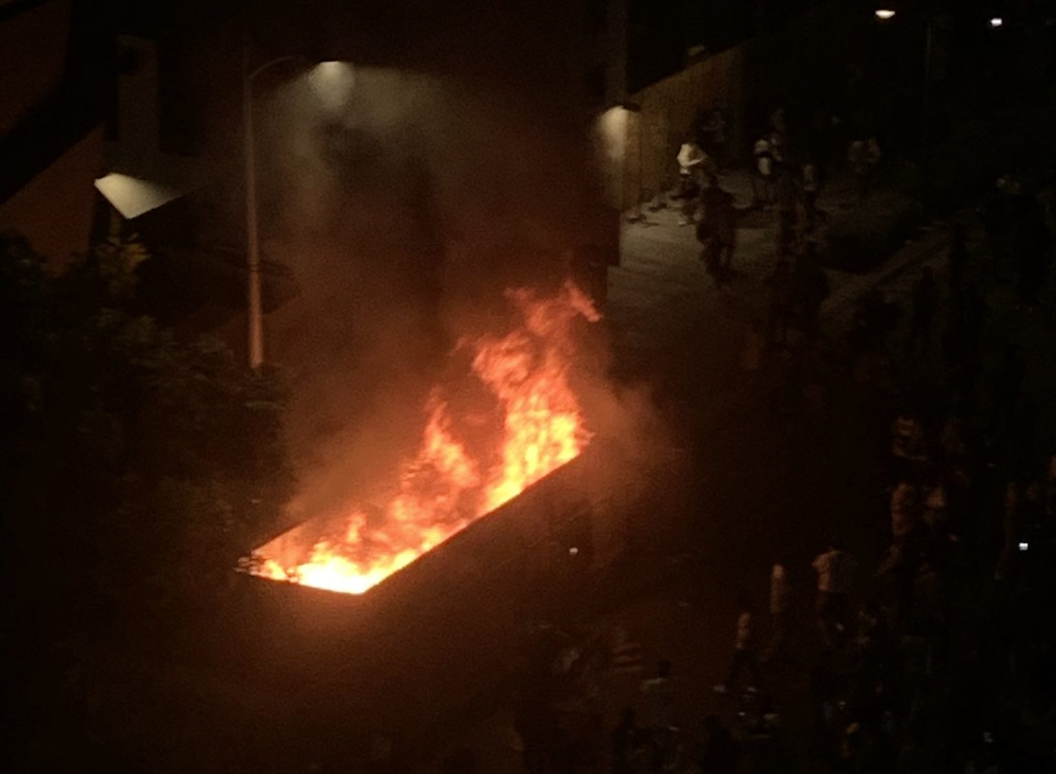ACAB + Dodgers Riot in Los Angeles Takes Place
