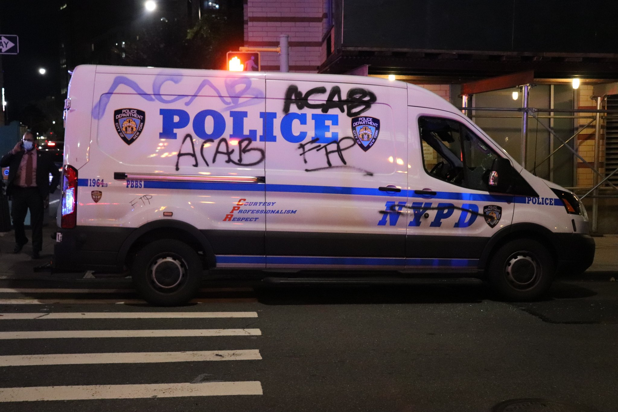 Riot Occurs in New York in Solidarity With Philadelphia