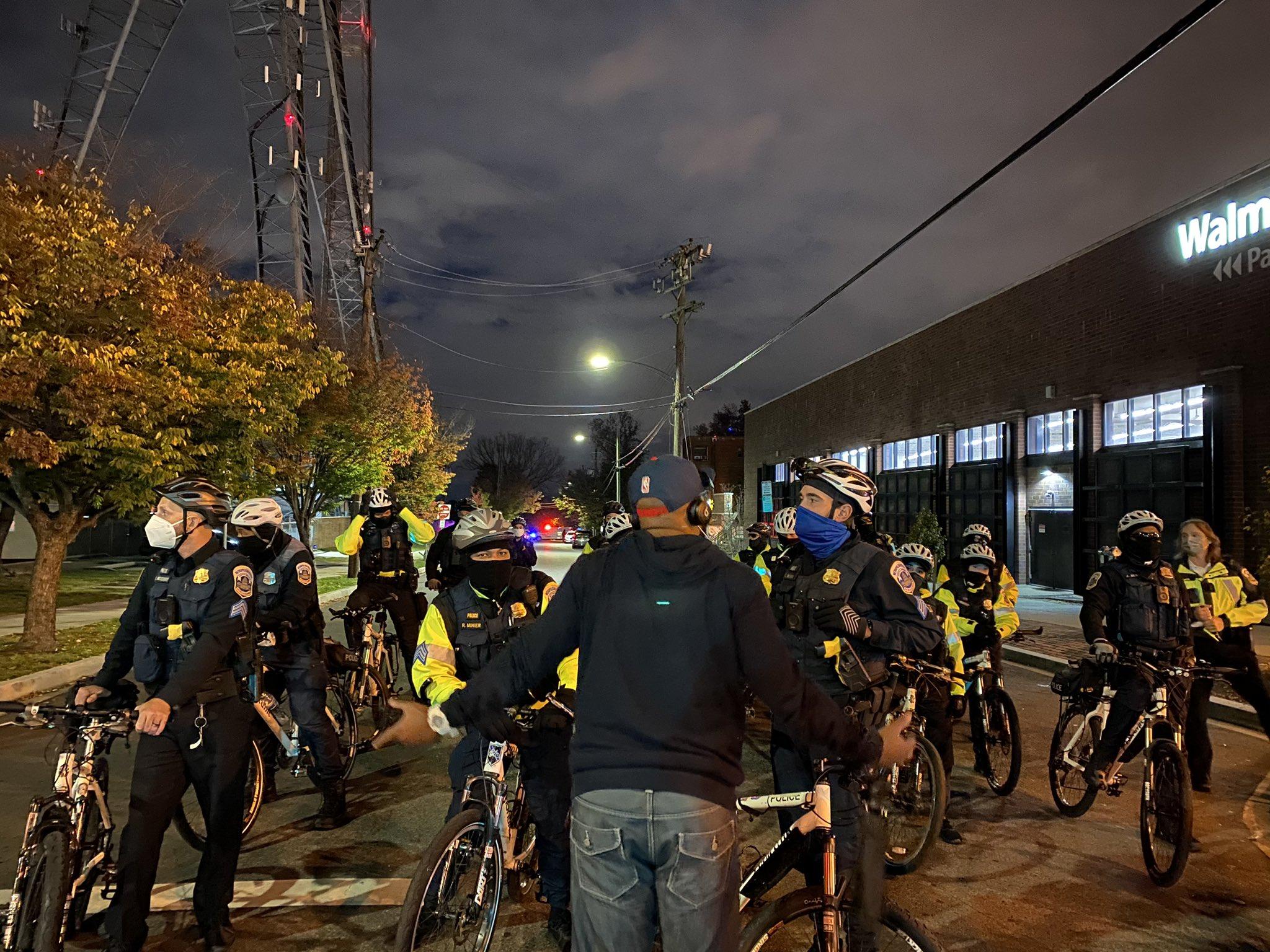 Washington D.C. Police Attack Protesters For Karon Hylton