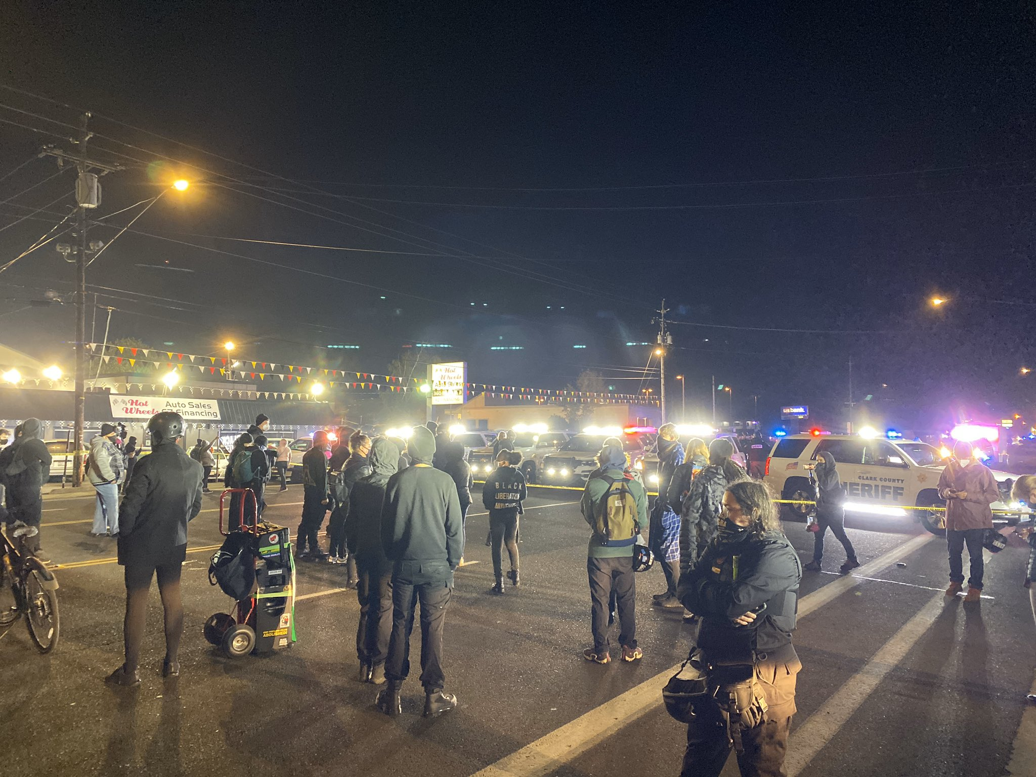 Protests Occur in Vancouver Amid Police Shooting