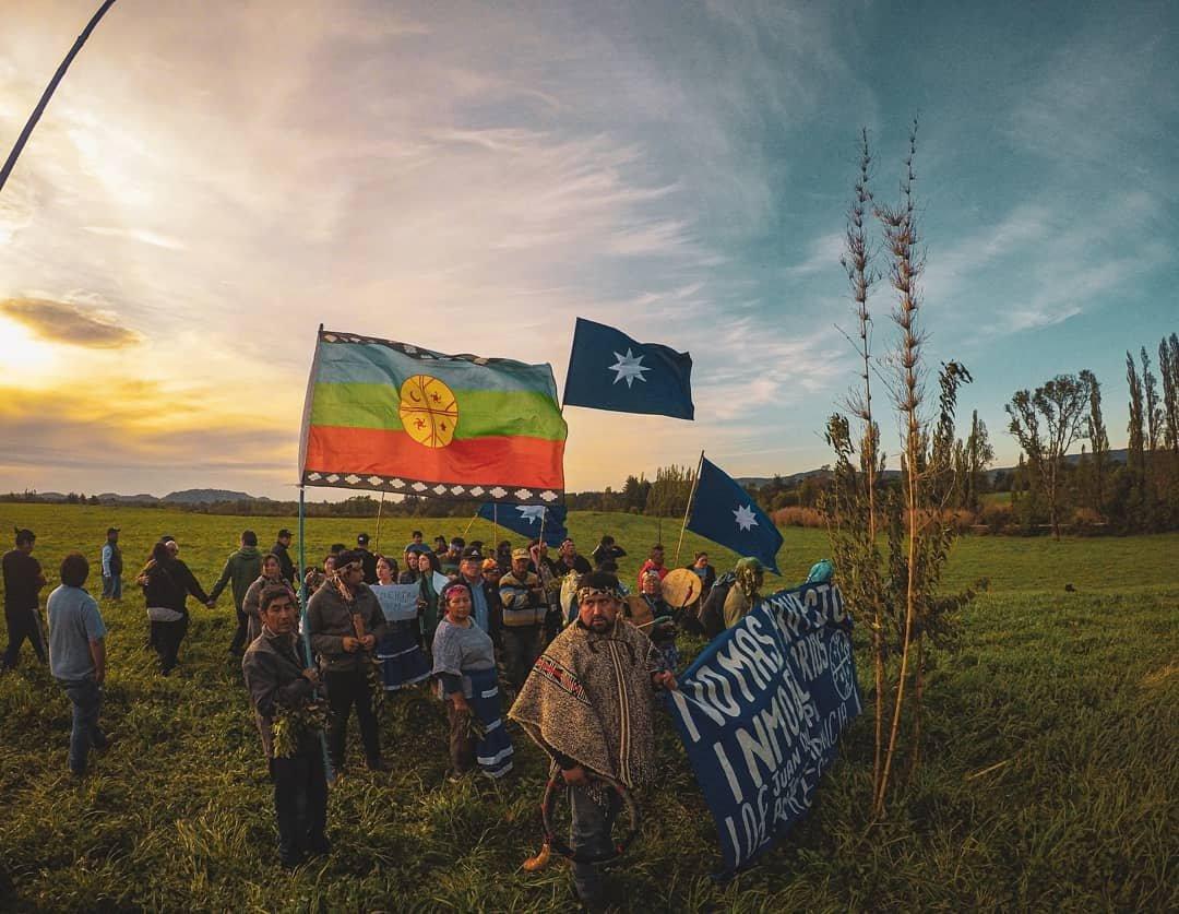 Mapuche Communities Protest Against Land Seizure in Wallmapu