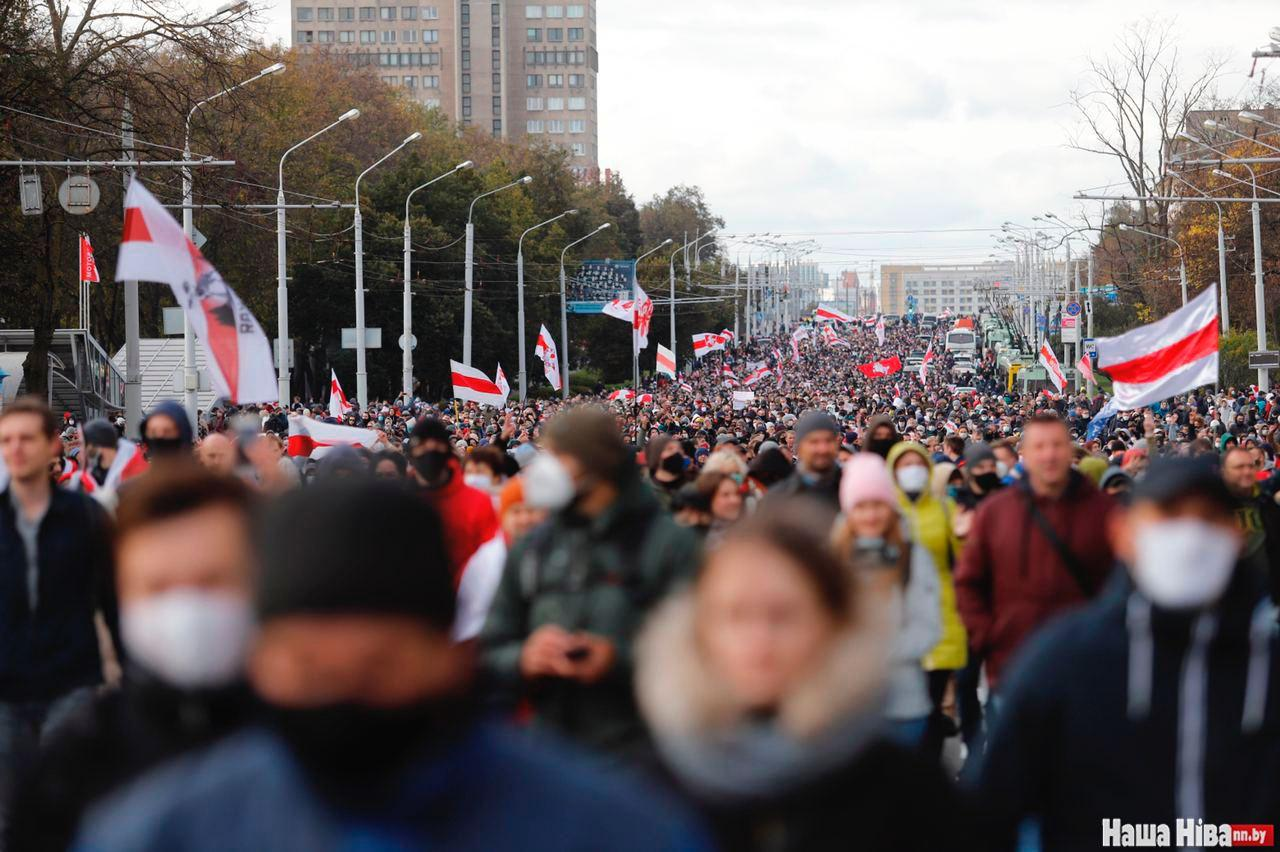 Day 71 of Protests in Belarus