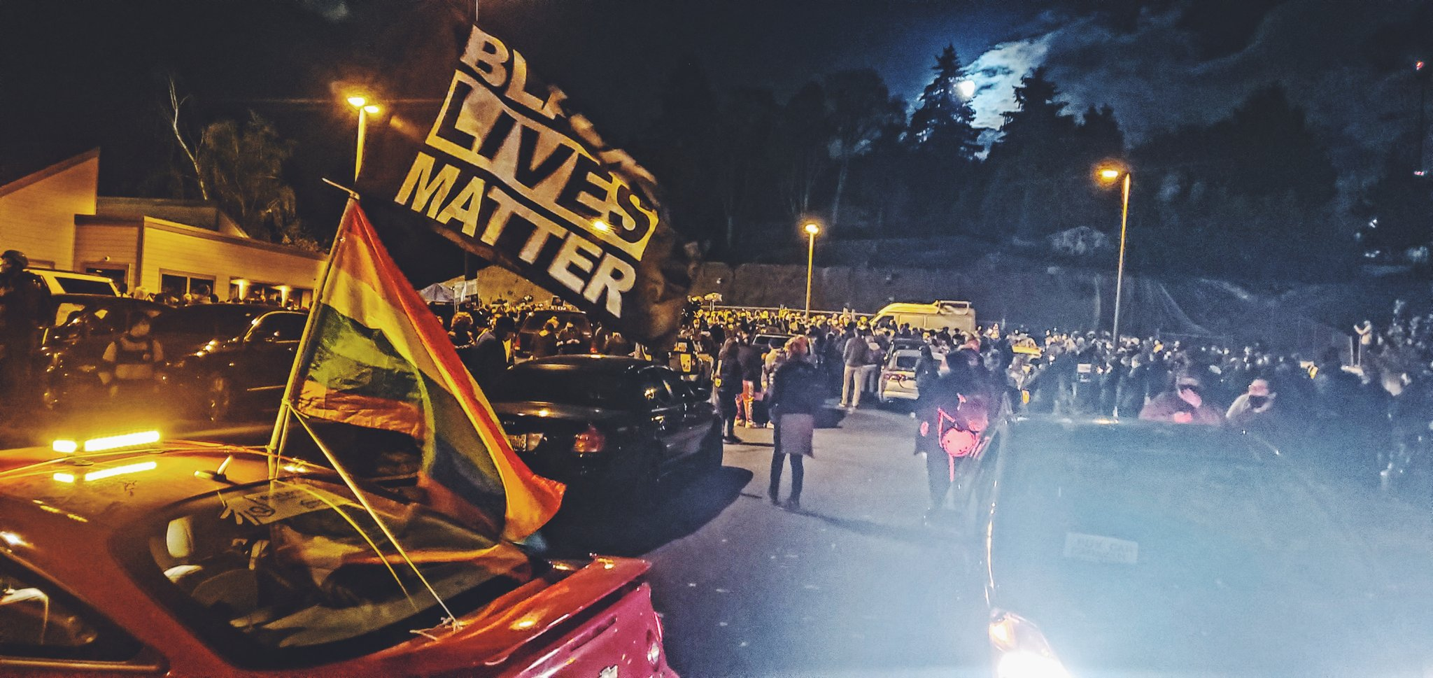 Clashes in Vancouver and Portland Amid Protest for Kevin Peterson