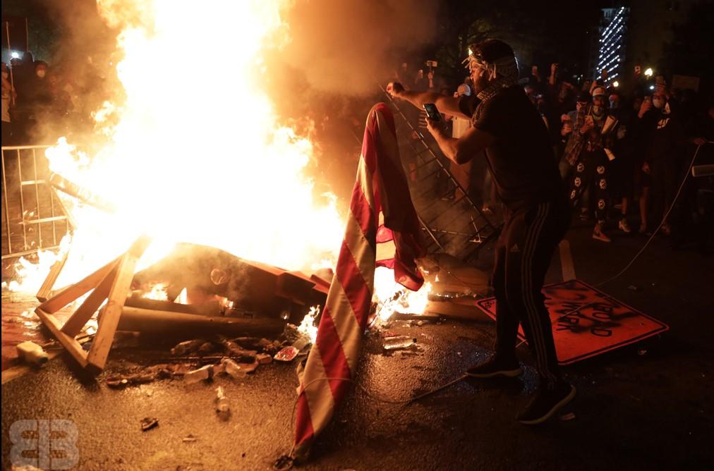 Clashes Amid Washington D.C. Protest