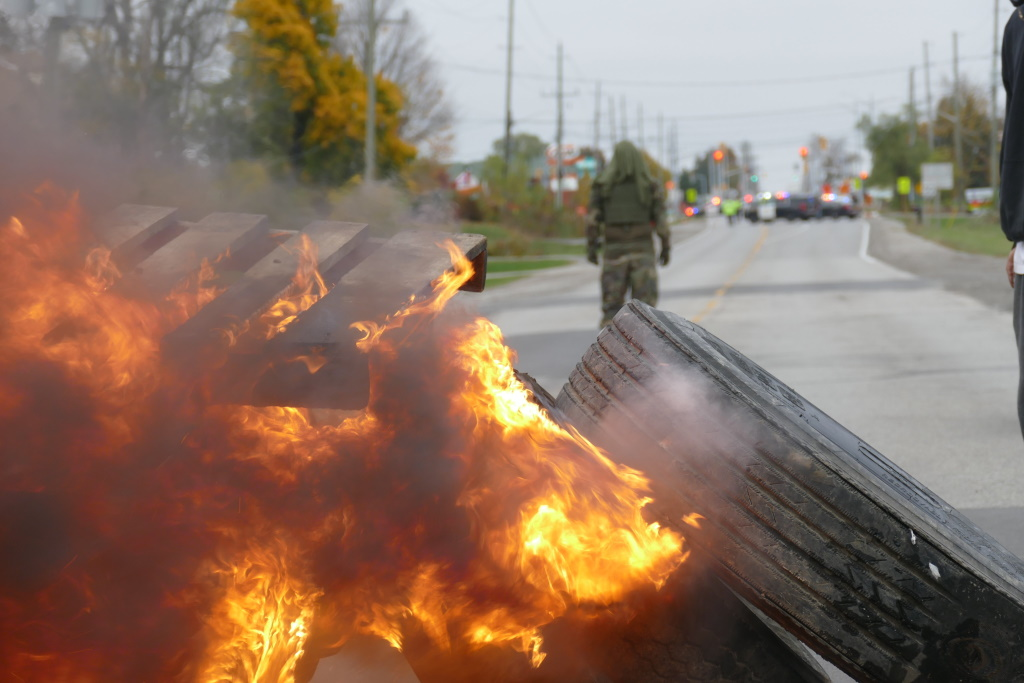 1492 Land Back Lane Clashes With OPP