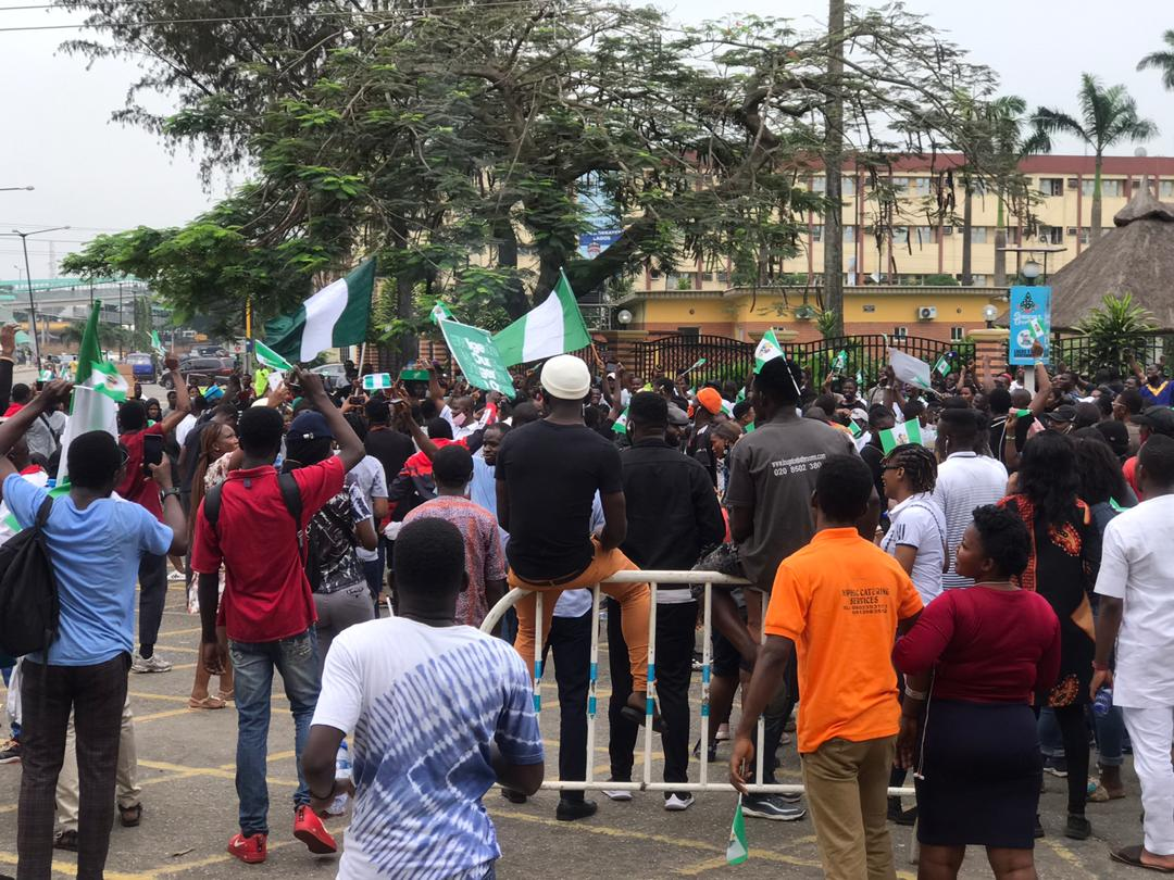 Revolution Now Protests in Nigeria Grow Steadily