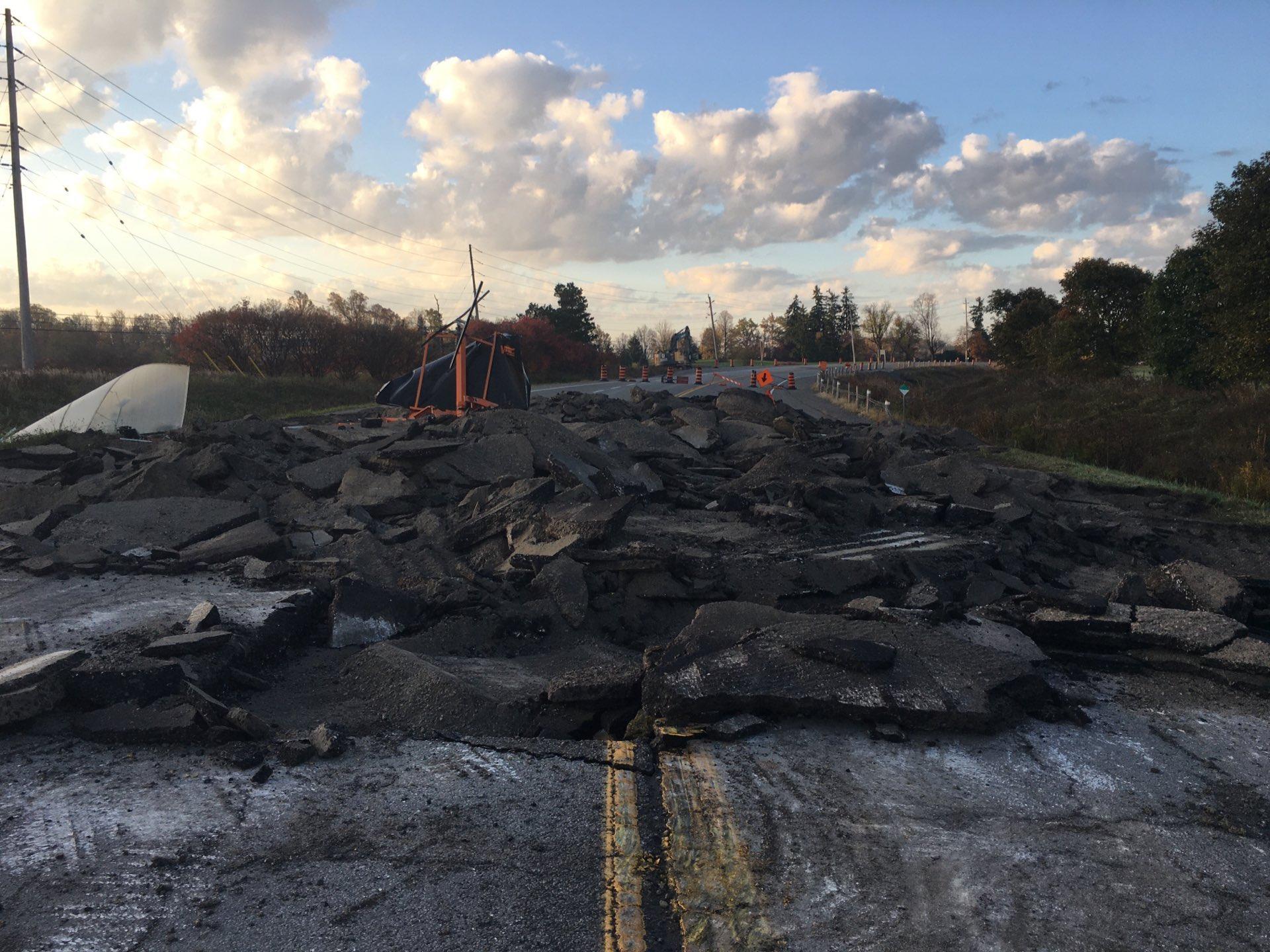 1492 Land Back Lane Destroys Highway