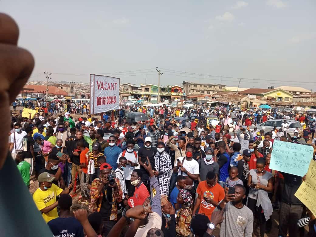 Demonstrations Spread Across Nigeria