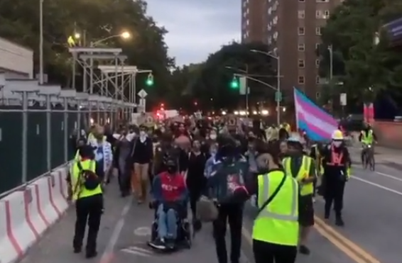 Black Trans Lives Matter Protest in New York