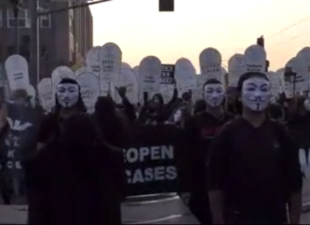 Protest in Minneapolis Against Police Violence