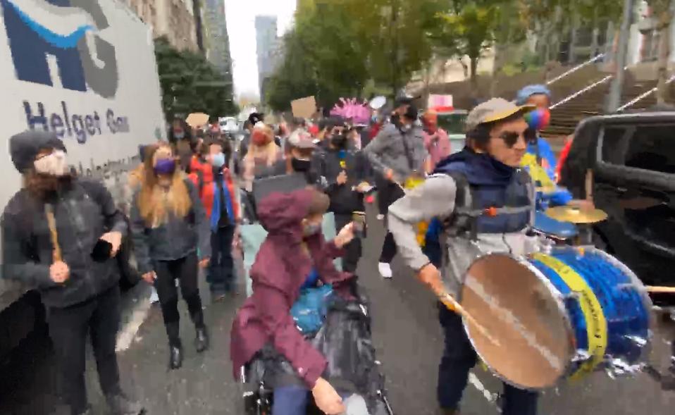 Black Lives Matter Protest in Seattle