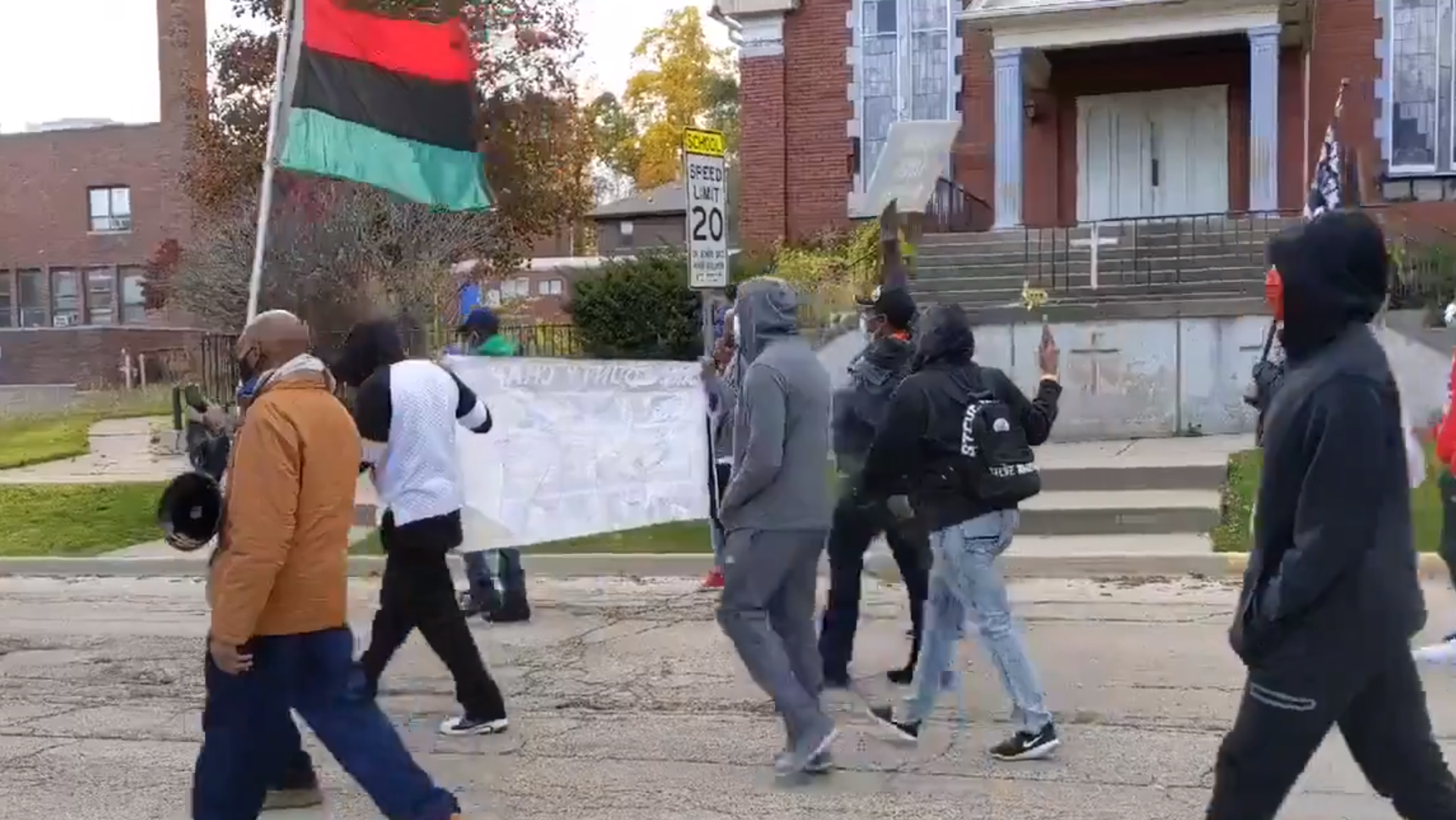 Protests Break out in Waukegan After Murder of Black Man