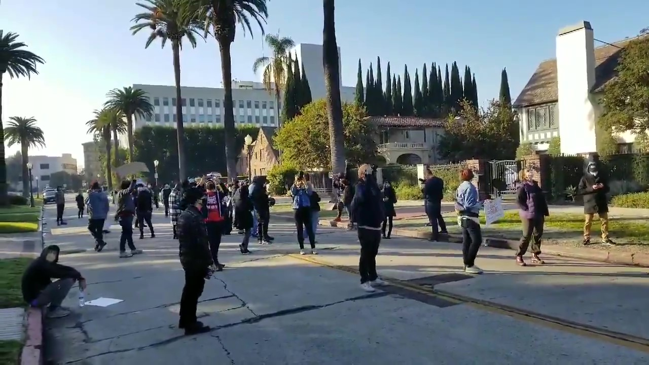 BLM Activists Protest Against Placement of Eric Garcetti as Sec. of Transportation