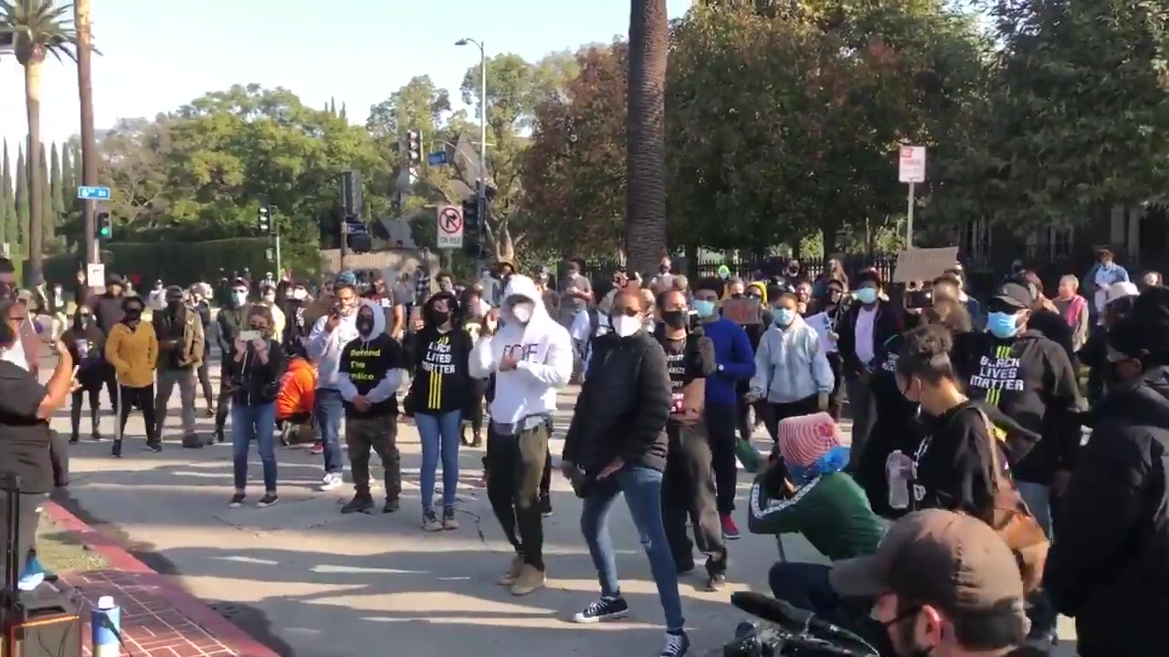 Black Lives Matter Protests Against LA Mayor Eric Garcetti Continue