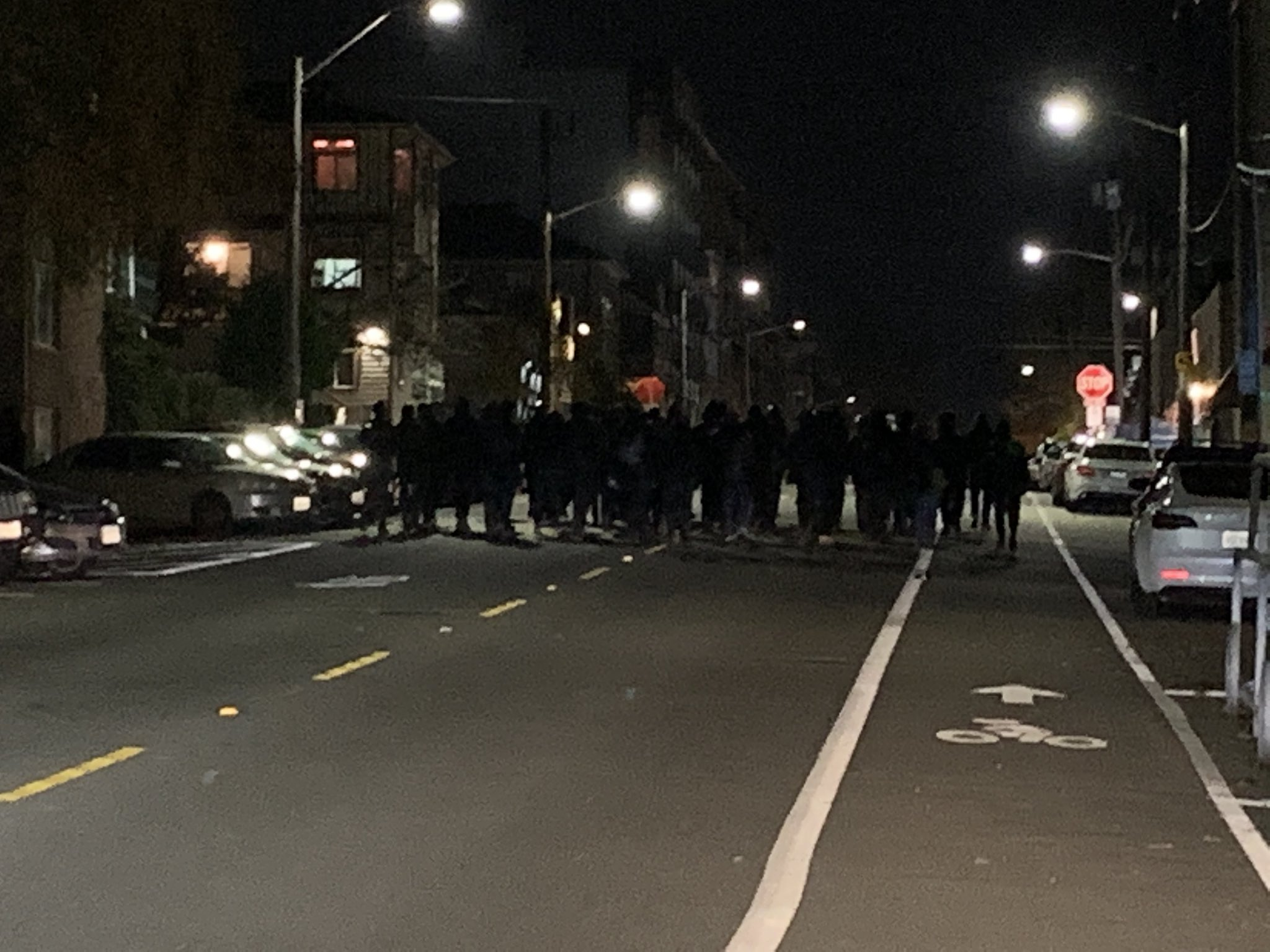 Seattle Protests Against Thanksgiving