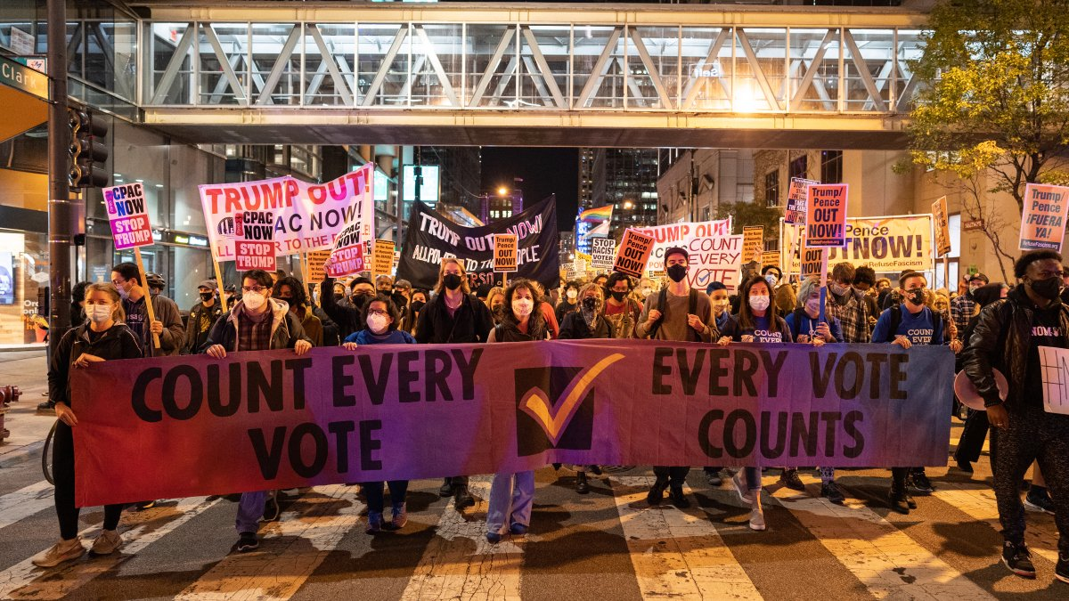 Chicago Protests Against Trump and For Black Lives