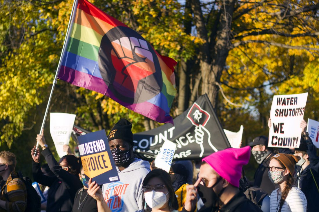 Detroit Takes to the Streets Against Trump