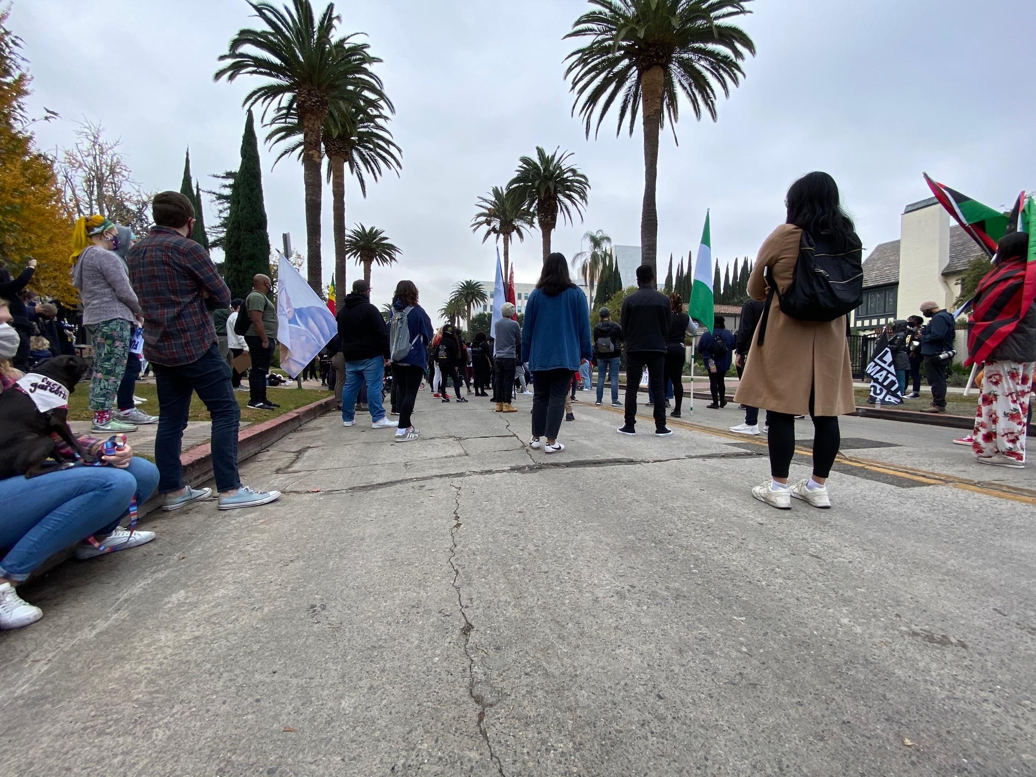 Protesters in LA Continue Block Garcetti Protests Through Day 19