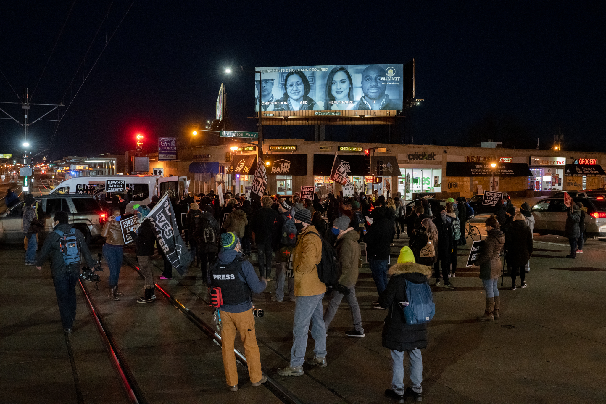 St. Paul Continues Protests After Black Man Shot by Police