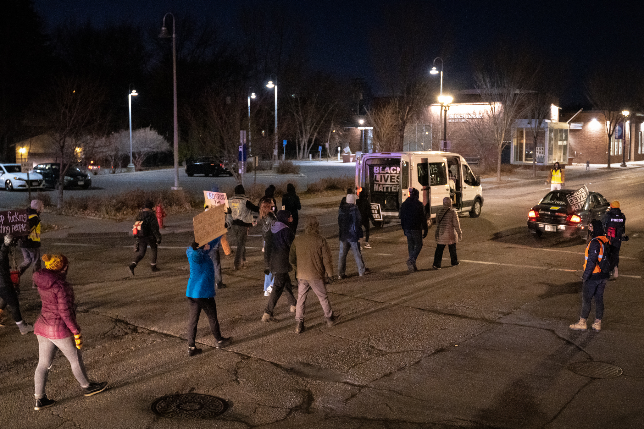 St. Paul Protests After Shooting of Black Man