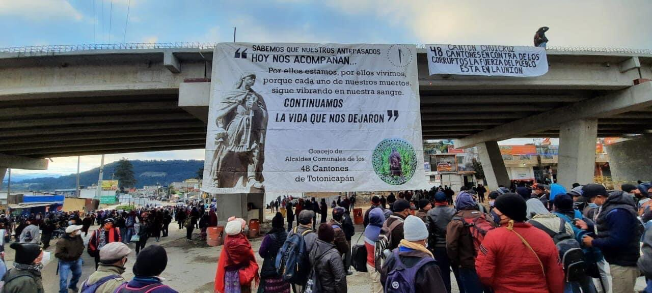 Indigenous Guatemalans in Totonicapán Protest Against Corruption