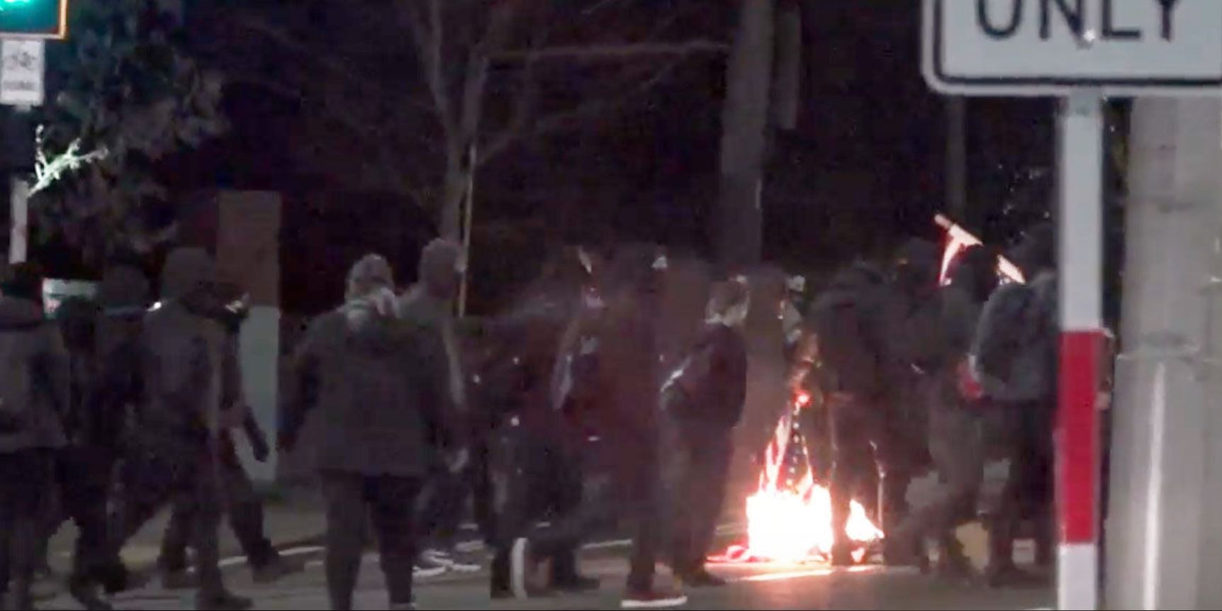 Seattle Protesters March on New Years' Eve for Tamir Rice