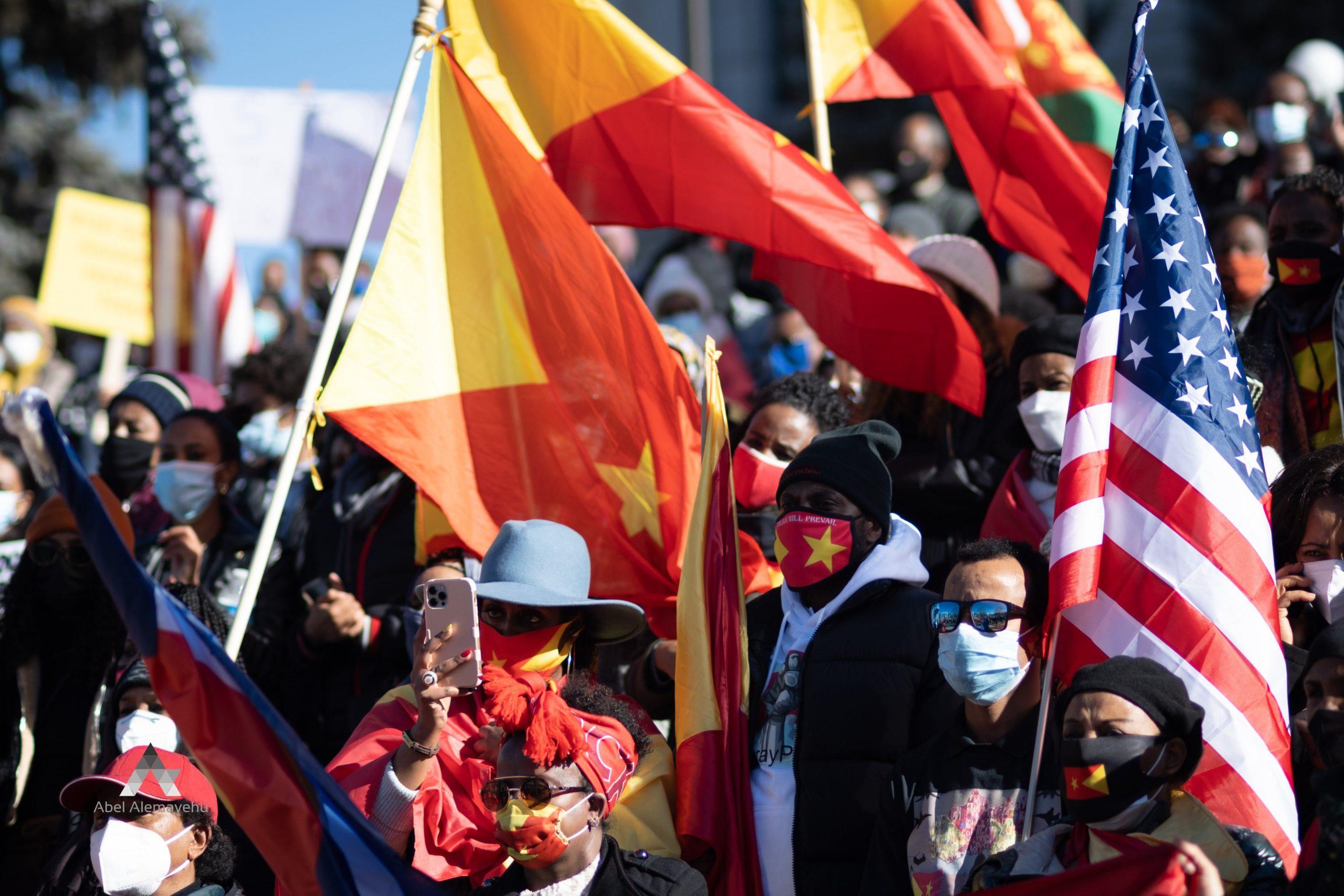 Hundreds Protest in Denver Against the War & Genocide on Tigray