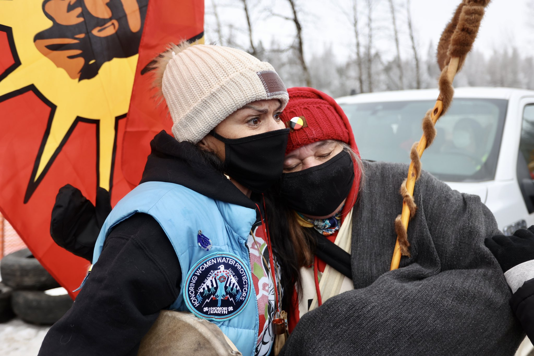 Police Assault Indigenous Rights Activists at Protest to Stop Minnesota Line 3 Pipeline