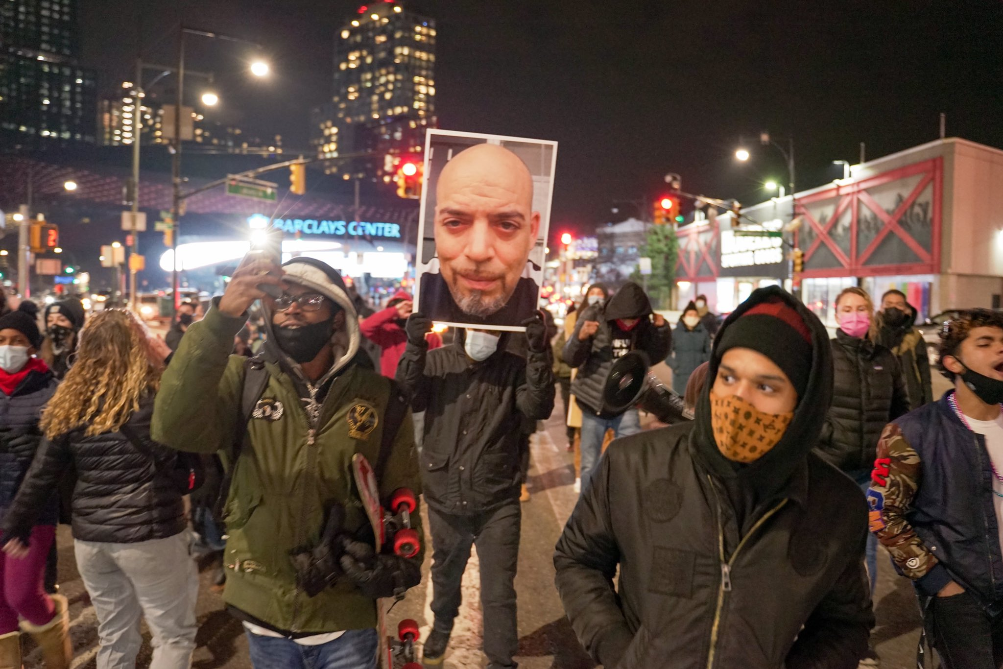 50 New Yorkers March in Manhattan Demanding Justice for Andre Hill & Casey Goodson