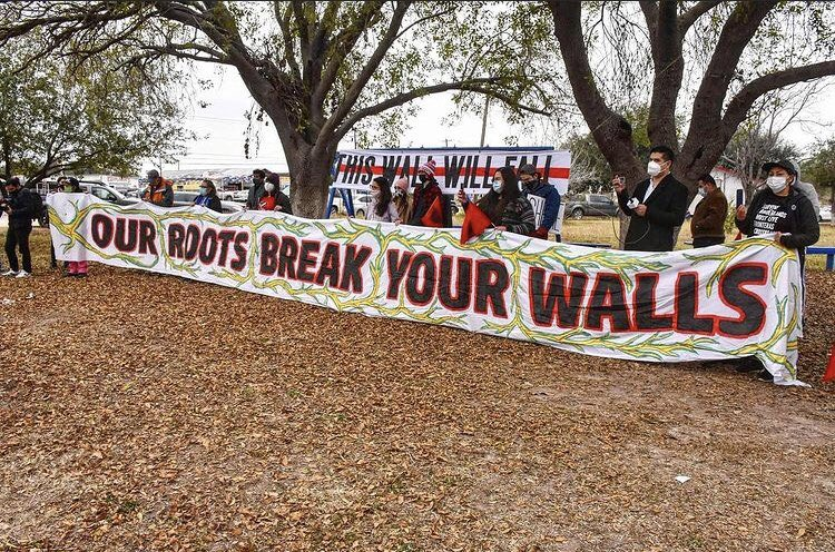 Protesters in Rio Grande Valley Gather in Opposition to Trump Visit to Border Wall