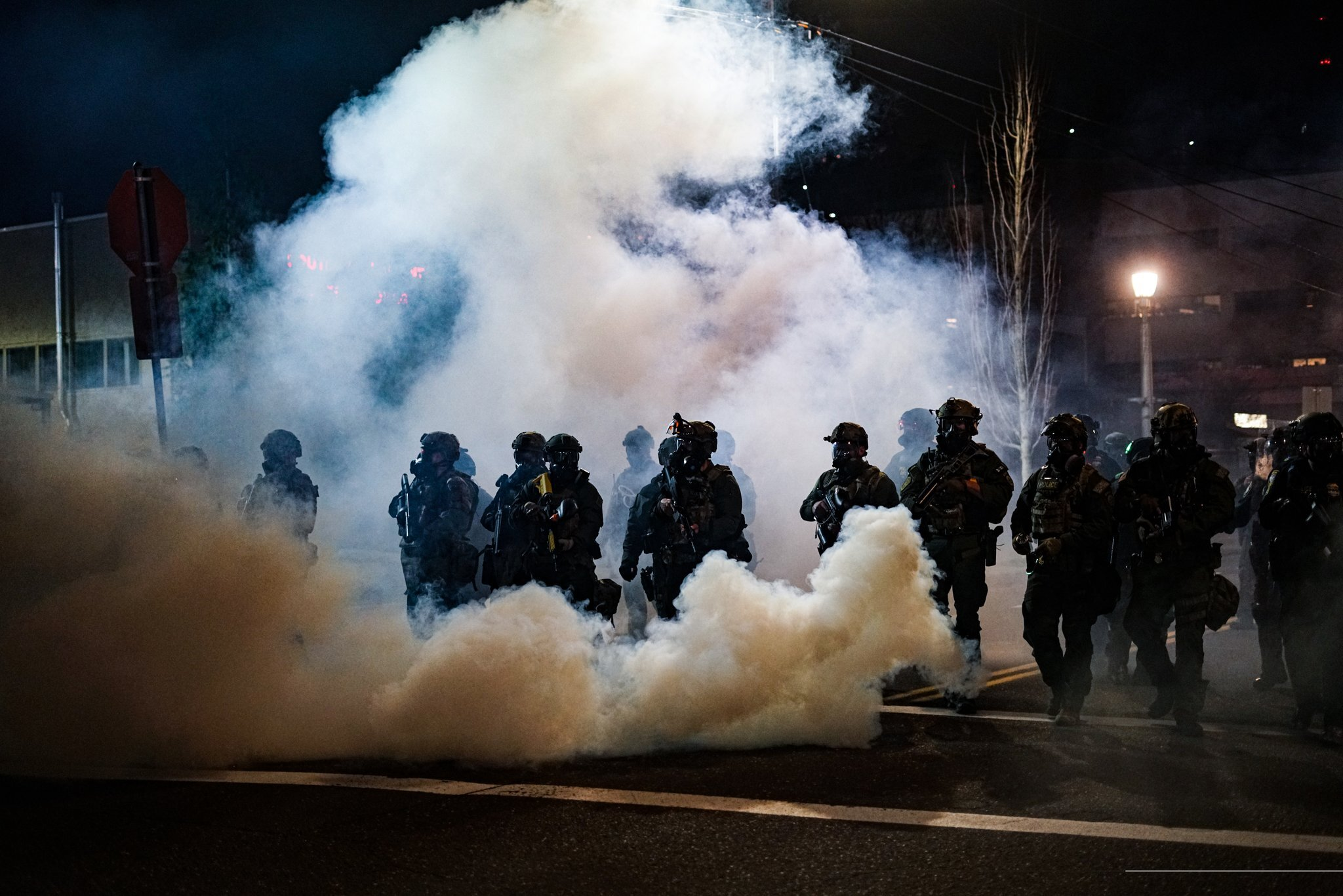 DHS Clouds Streets of Portland With Tear Gas at Abolish ICE Protest