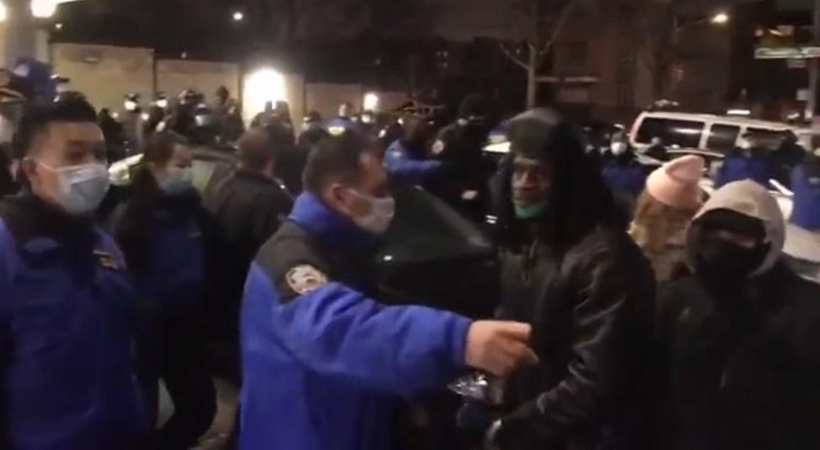 71st Precinct Attacks New York Protesters Demanding Police Accountability