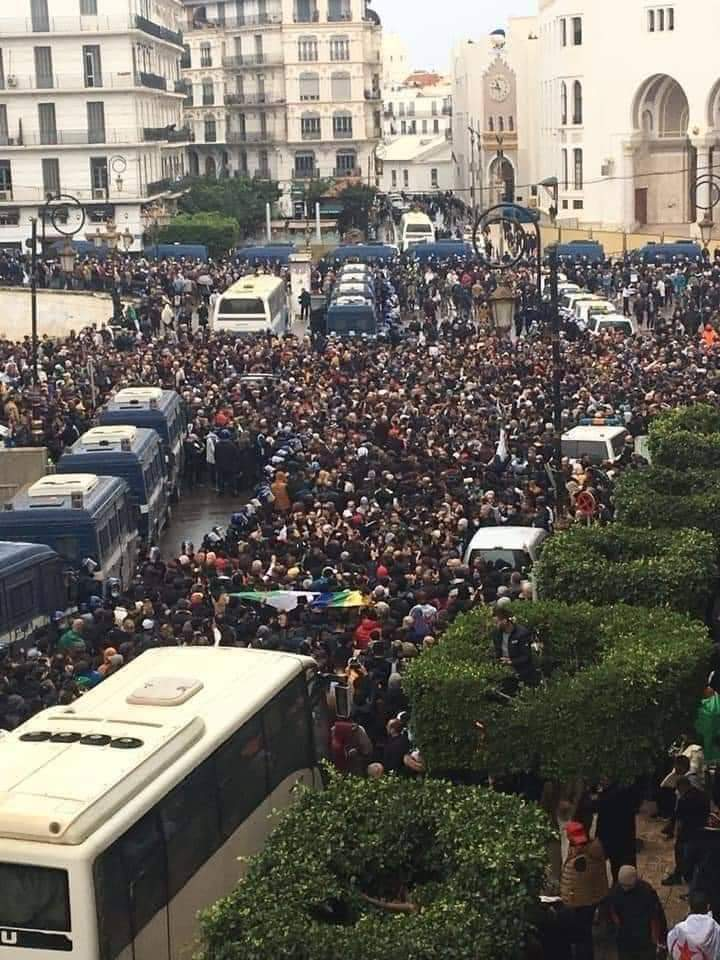 Tens of Thousands of Algerians Return to the Streets On 2nd Anniversary of Hirak