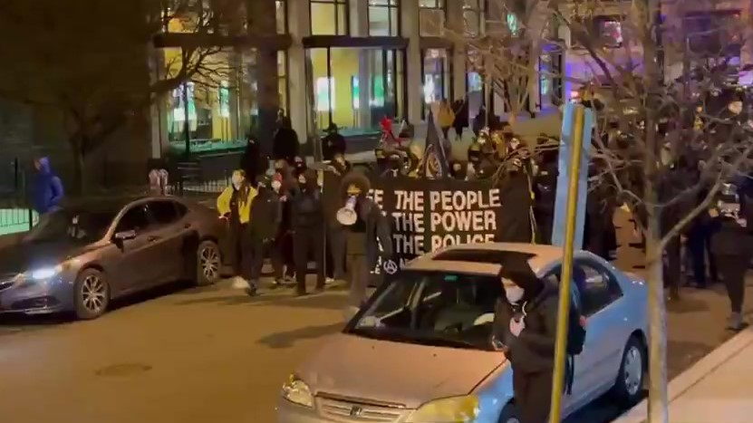 Anarchists March in Washington DC for Weekly FTP Demonstration