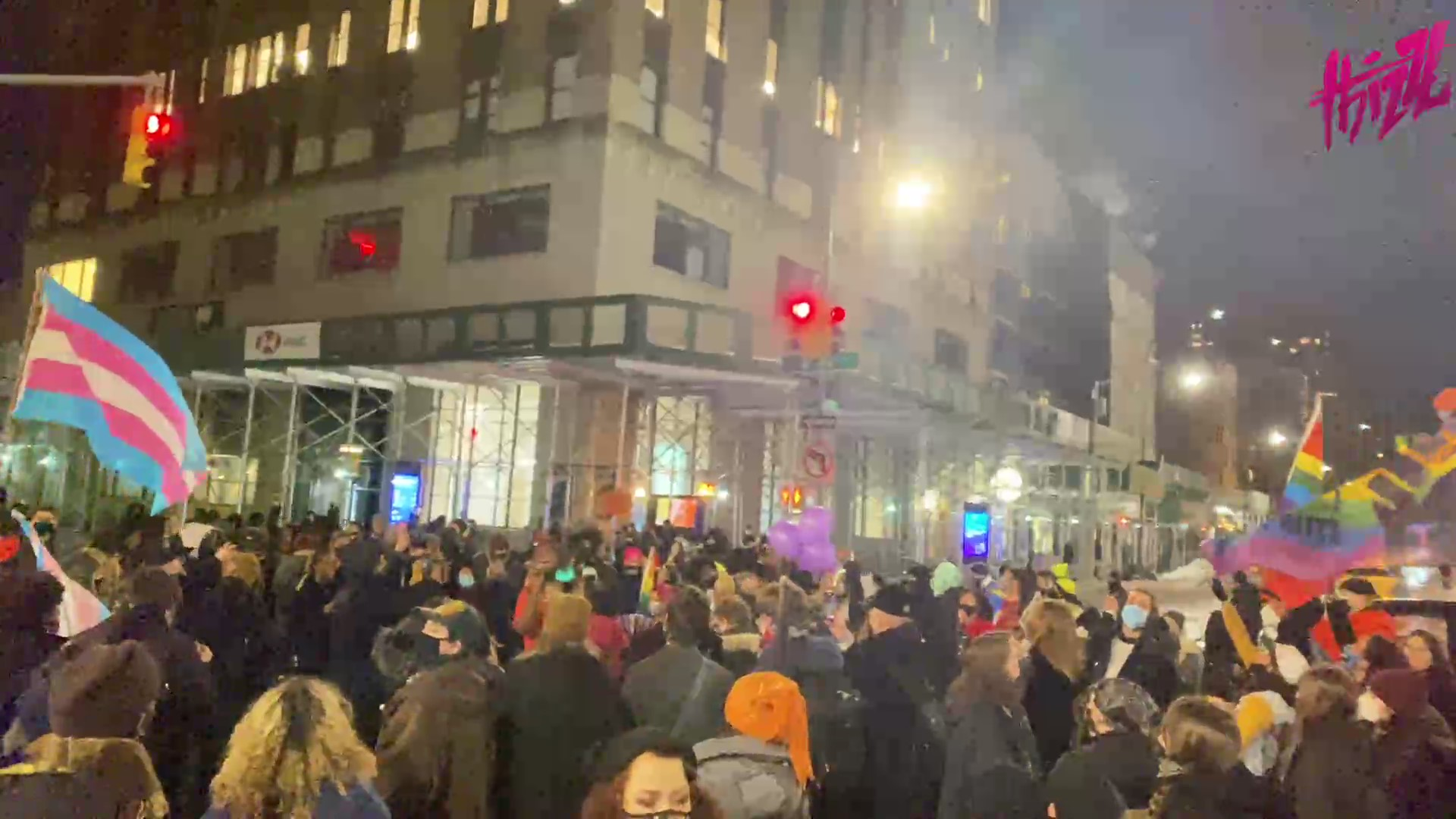 Hundreds in New York Take Part in Weekly Stonewall March