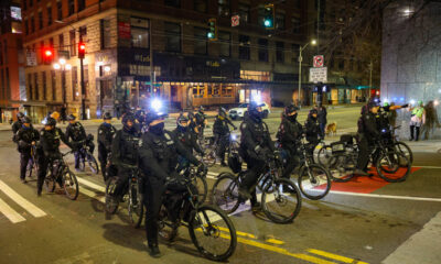 100+ Protesters in Seattle Attacked by Police on Anniversary of Breonna Taylor's Murder