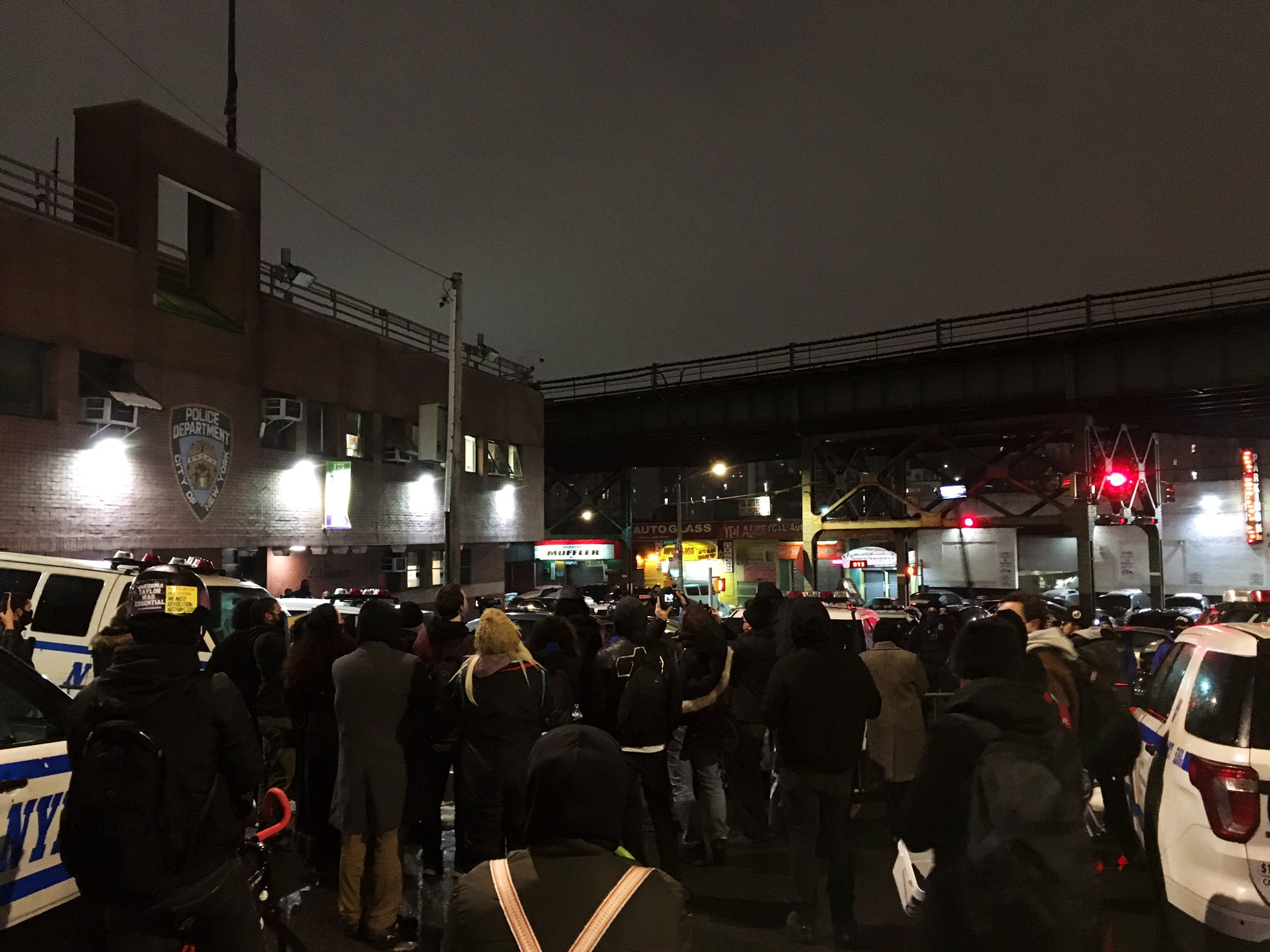 Dozens of Protesters in New York March From Harlem to the Bronx Against Predatory Policing Tactics
