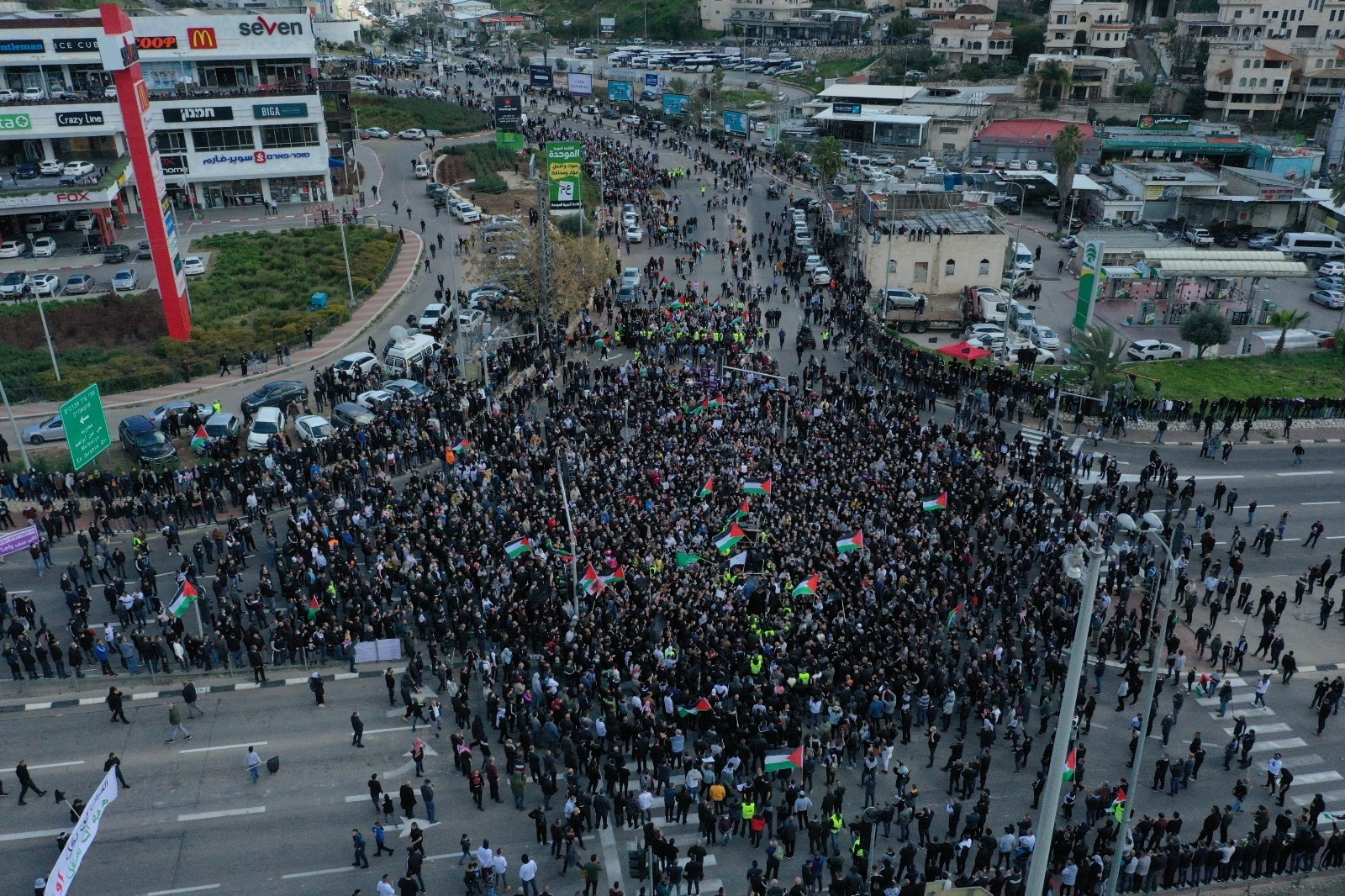 20,000 Palestinians Protest Against Police Brutality in Umm al-Fahm