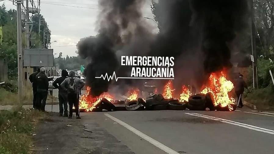 Mapuche Chileans Place Barricades Against Militarization of Wallmapu