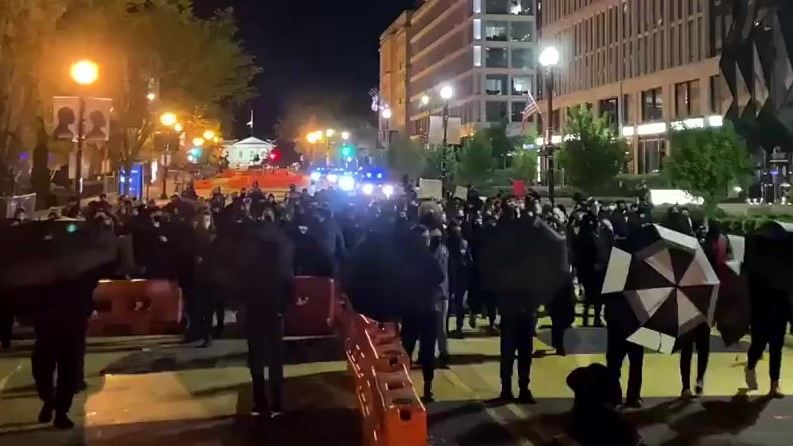 Hundreds in Washington D.C. March for Justice for Daunte Wright