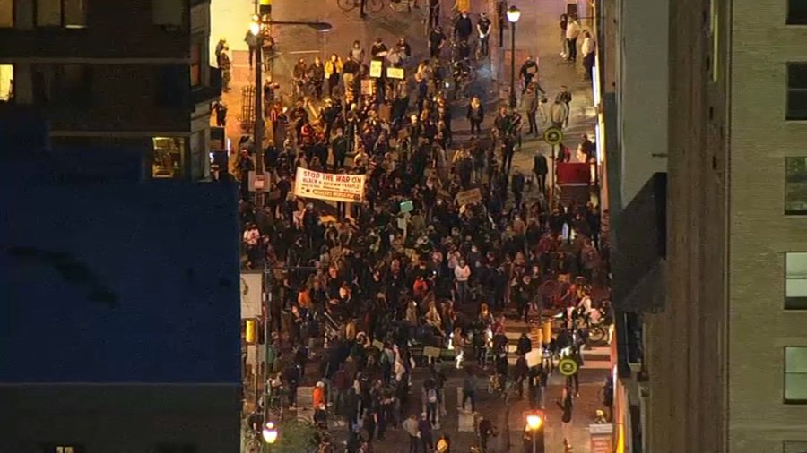 Hundreds in Philadelphia Protest for Justice for Daunte Wright