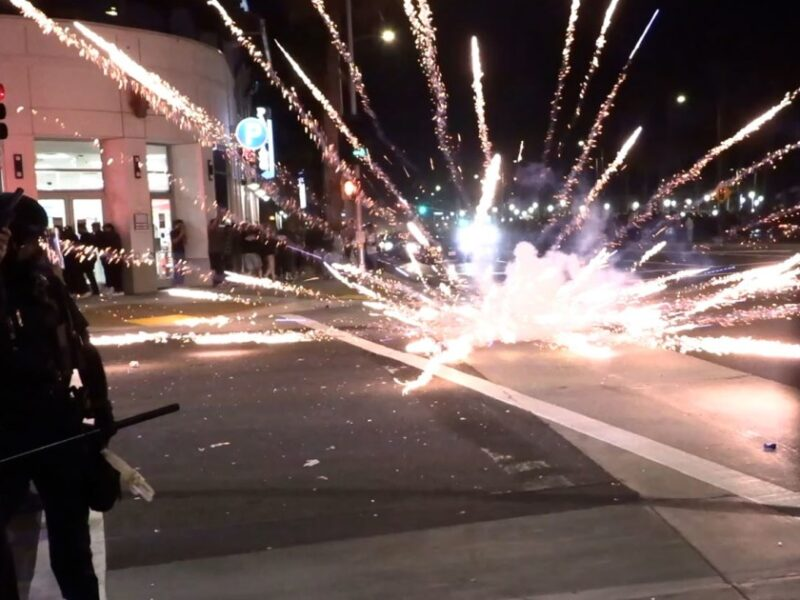 Thousands in Huntington Beach Clash With Police During 'Adrian's Kickback' Party